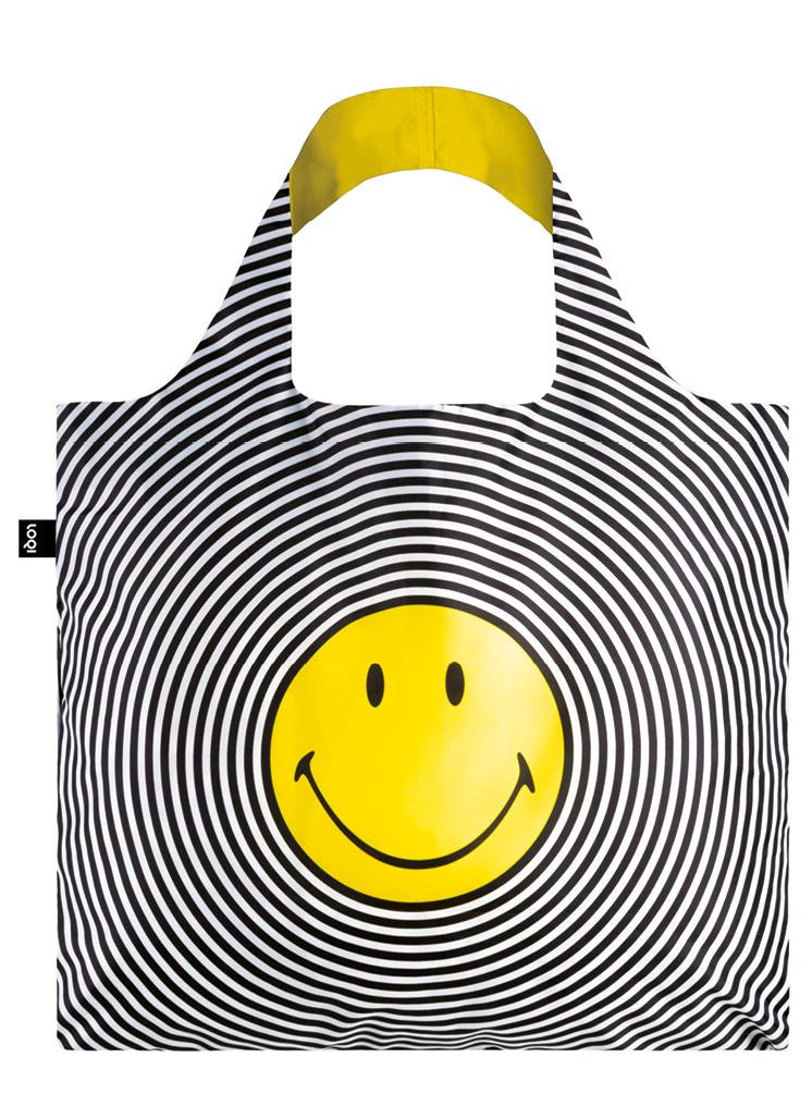 Loqi Smiley Spiral Reusable Bag