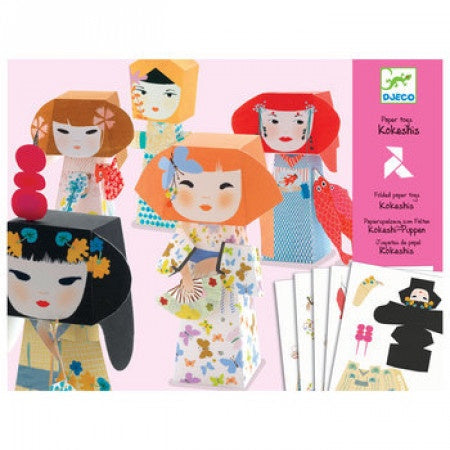 Kokeshis Paper Toys