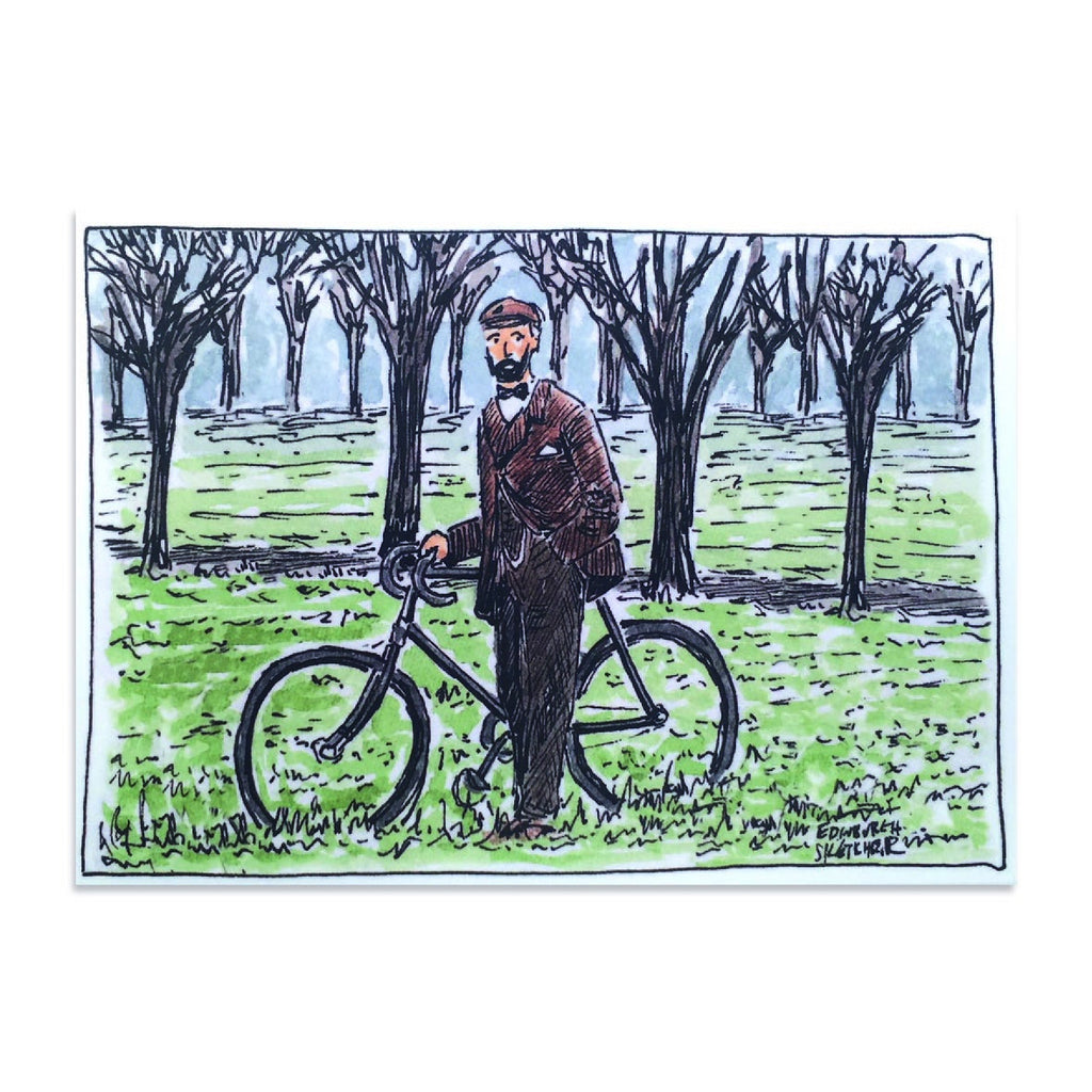 Victorian Cycles The Meadows Post Card