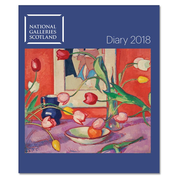 National Galleries of Scotland Desk Diary  2018