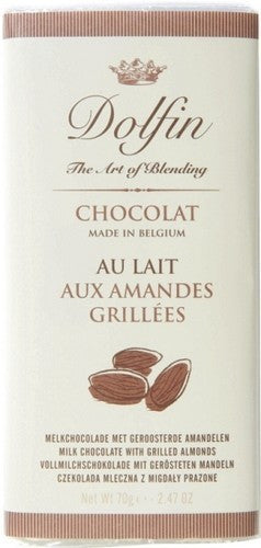 Dolfin Milk Chocolate With Almonds