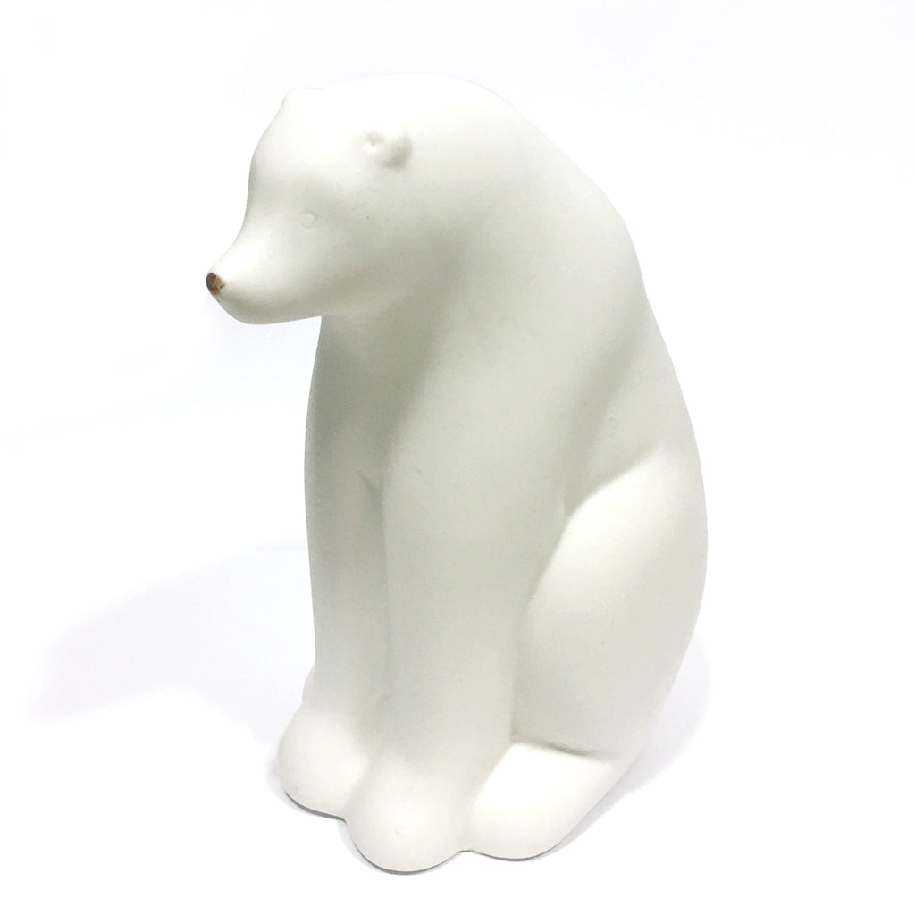 Large Ceramic Polar Bear