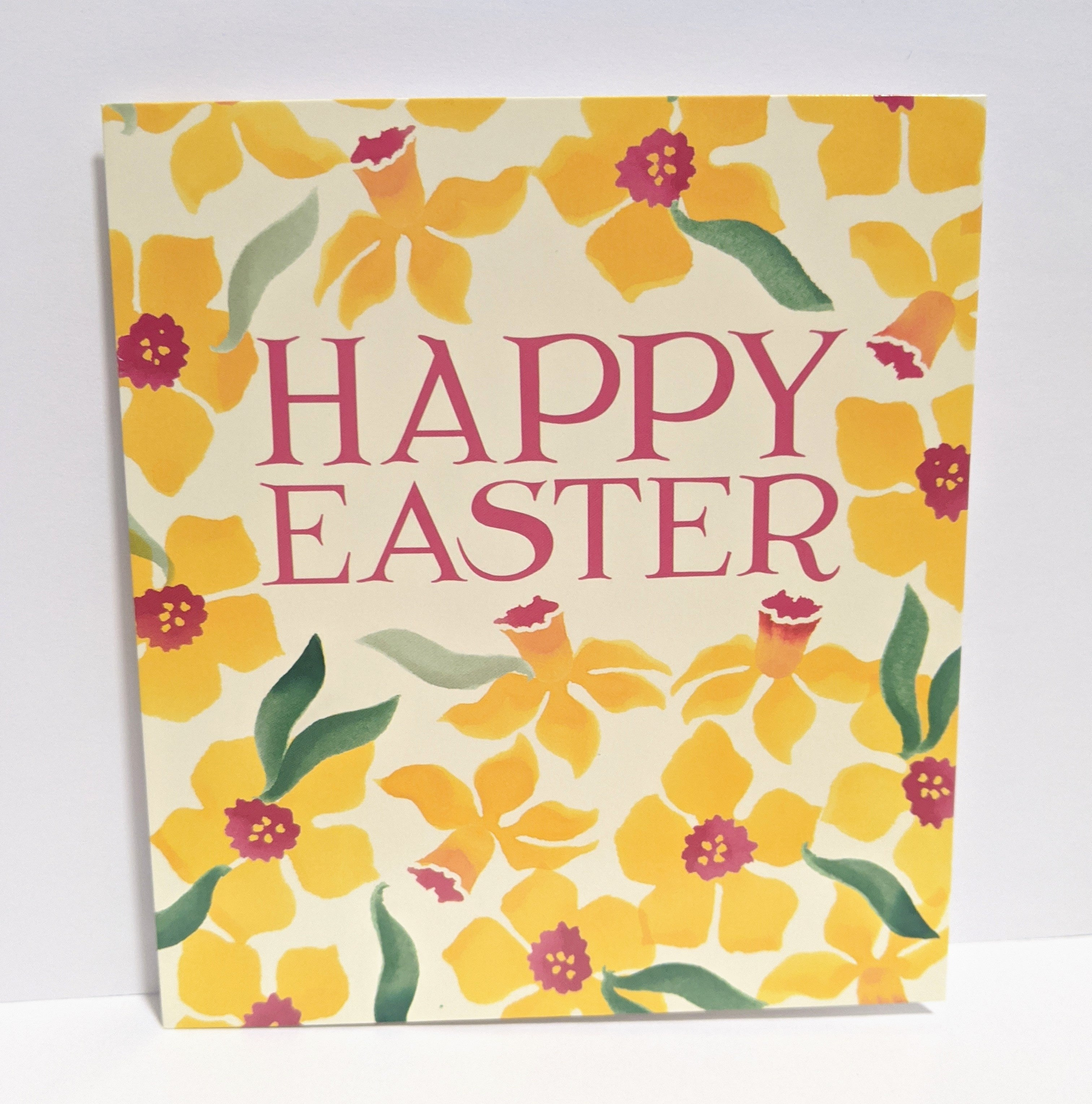 Pack of 5 Bunny Happy Easter Greeting Cards In Same Design