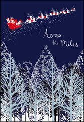 Sleigh Ride Across the Miles Christmas Card