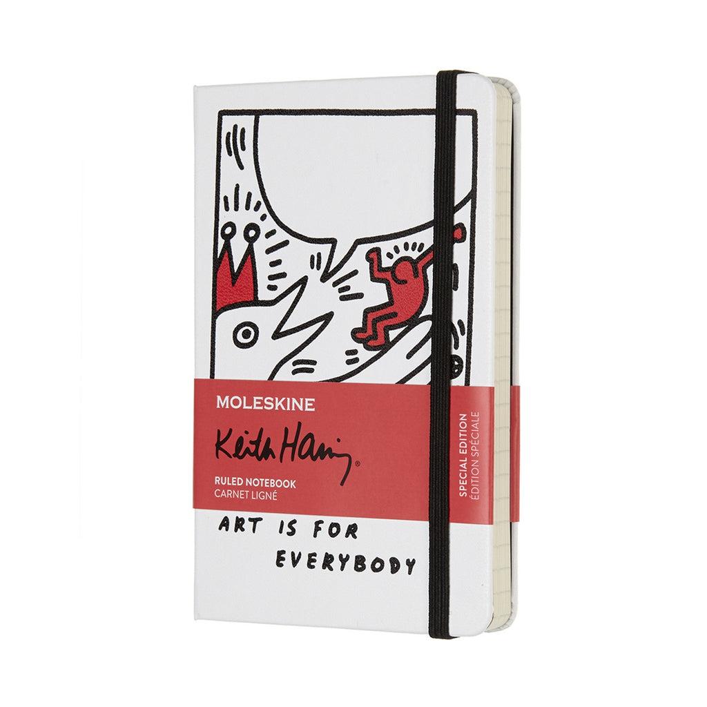 Moleskine Limited Edition Keith Haring Pocket Ruled Notebook