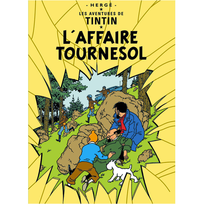 The Calculus Affair Tintin Poster