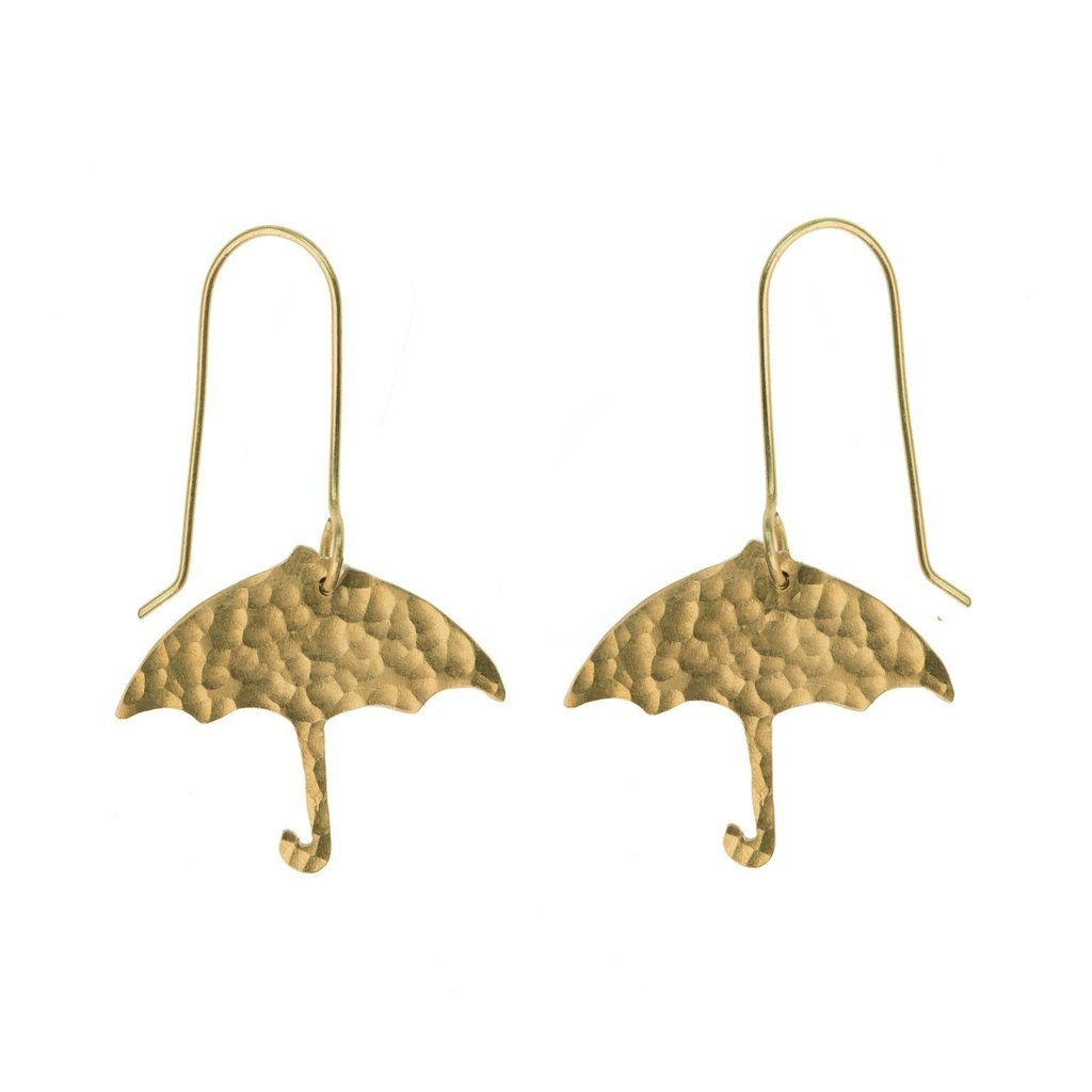 April Showers Umbrella Earrings by Just Trade