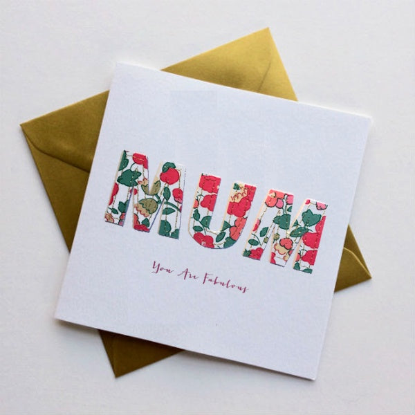 You are Fabulous Mum Card