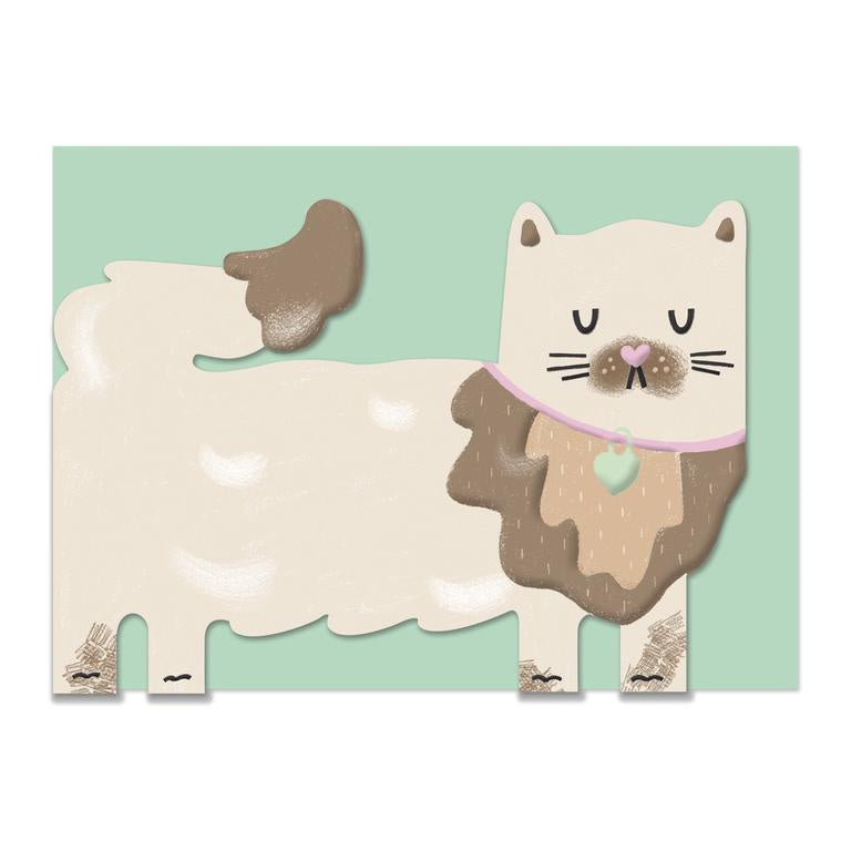 Persian Cat Card
