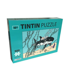 Tintin Shark Submarine Jigsaw