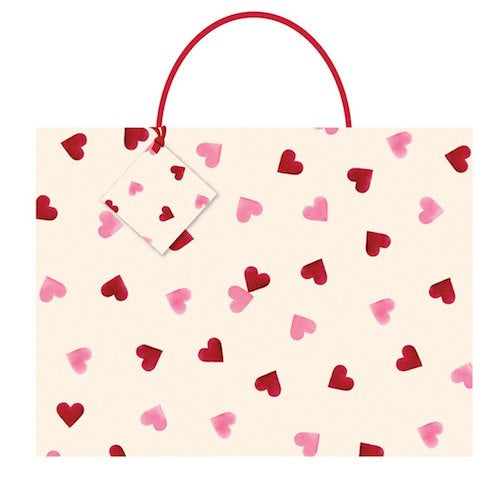 Emma Bridgewater Hearts Large Gift Bag