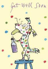 Quentin Blake Get Well Soon Card