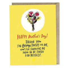 Thank You For Being There For Me Mothers Day Card
