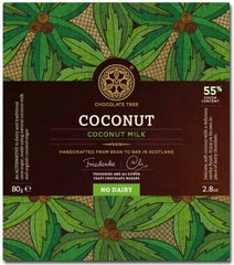 Bean to Bar Coconut Milk Chocolate 55%