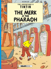 The Adventures O Tintin: The Merk O The Pharoah (Scots)