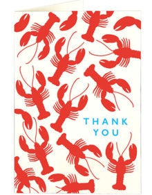 Thank You Lobster Small Card