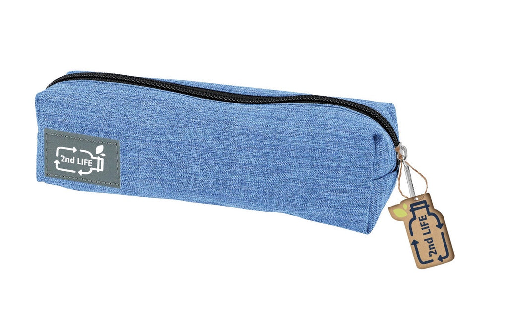 2nd Life Blue Pencil Case