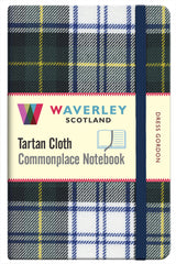 Tartan Cloth Notebook- Dress Gordon