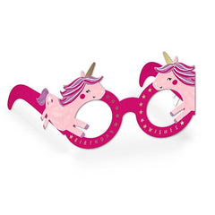 Unicorn Birthday Wishes Birthday Glasses