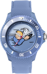 Tintin Watch- Land of the Soviets Car - Sports Strap - Medium