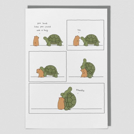 You Look Like You Could Use A Hug Card by Liz Climo