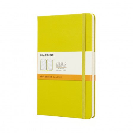Moleskine Large Ruled Notebook Dandelion Yellow
