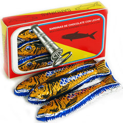 Box Of Milk Chocolate Sardines