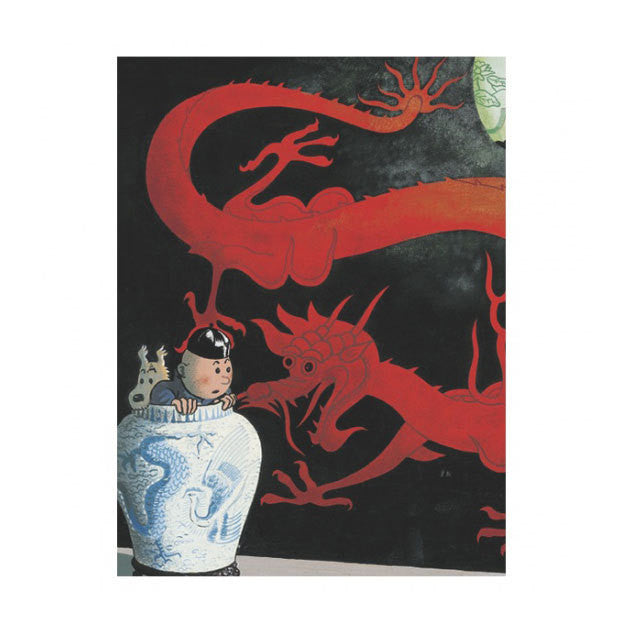 A5 Notebook The Blue Lotus Red Dragon