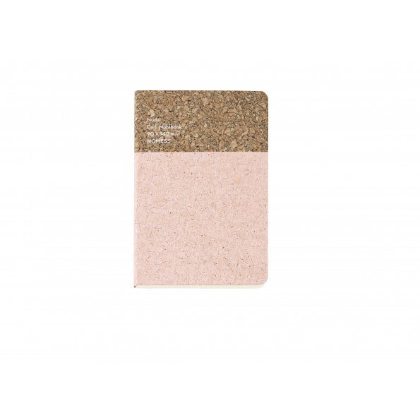Notebook Cork Nude Small