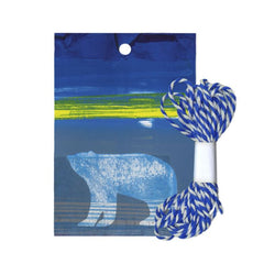 Barbara Rae Cresswell Bay Polar Bear Gift Tags