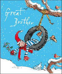 Brother Swingin' Along Christmas Card