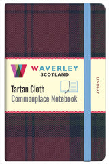 Tartan Cloth Notebook - Lindsay
