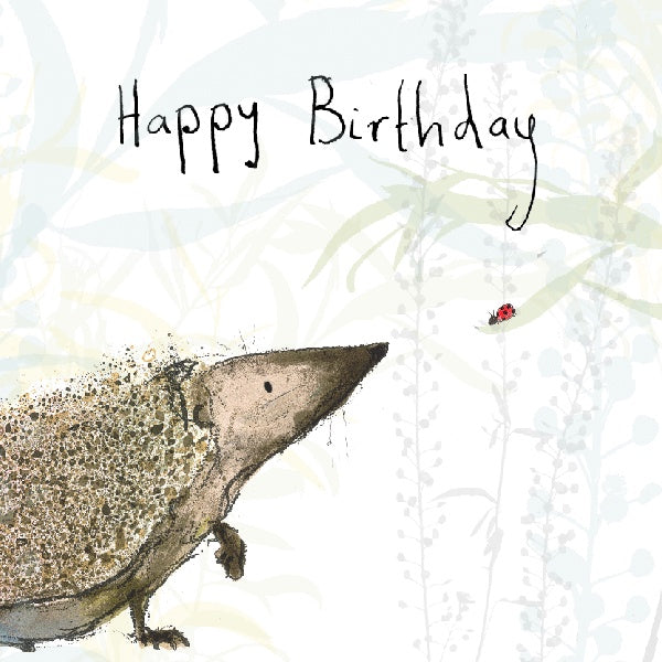 Russ Happy Birthday Card by Catherine Rayner