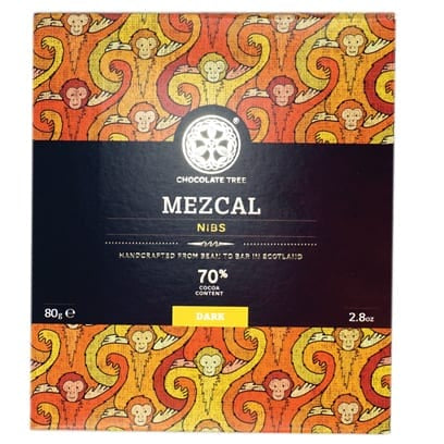 Bean to Bar Mezcal Nibs 70% Cocoa