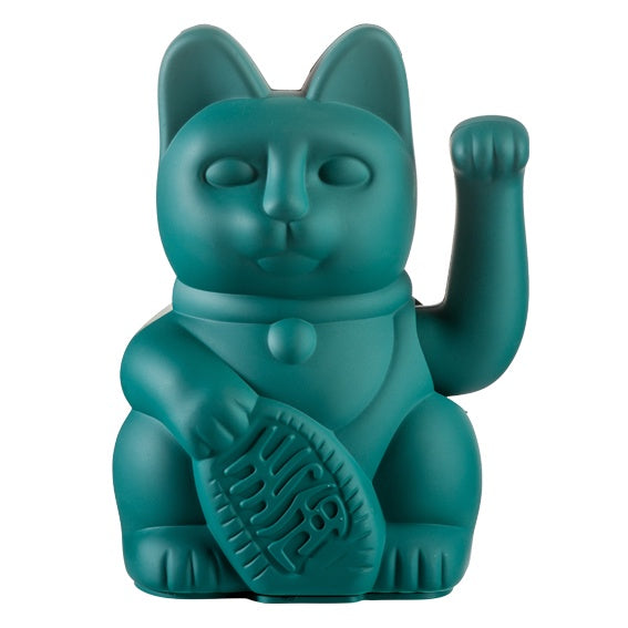 Lucky Waving Cat Green