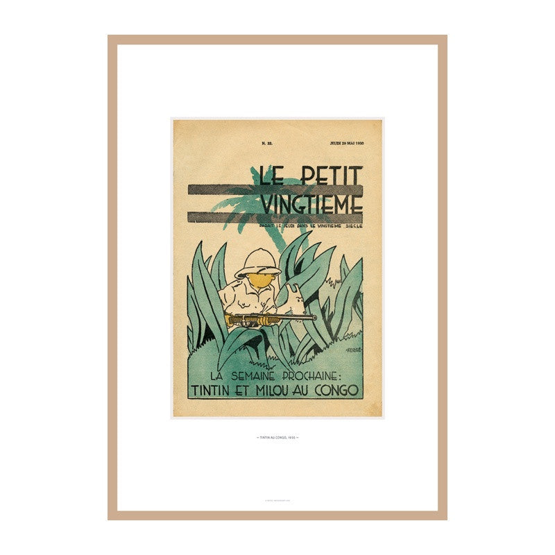 Limited Edition In The Congo Lithograph