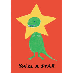 Morag Hood Dinosaur Well Done Card