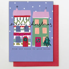 Christmas Houses Card