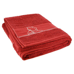 Red Tintin Bath Towel