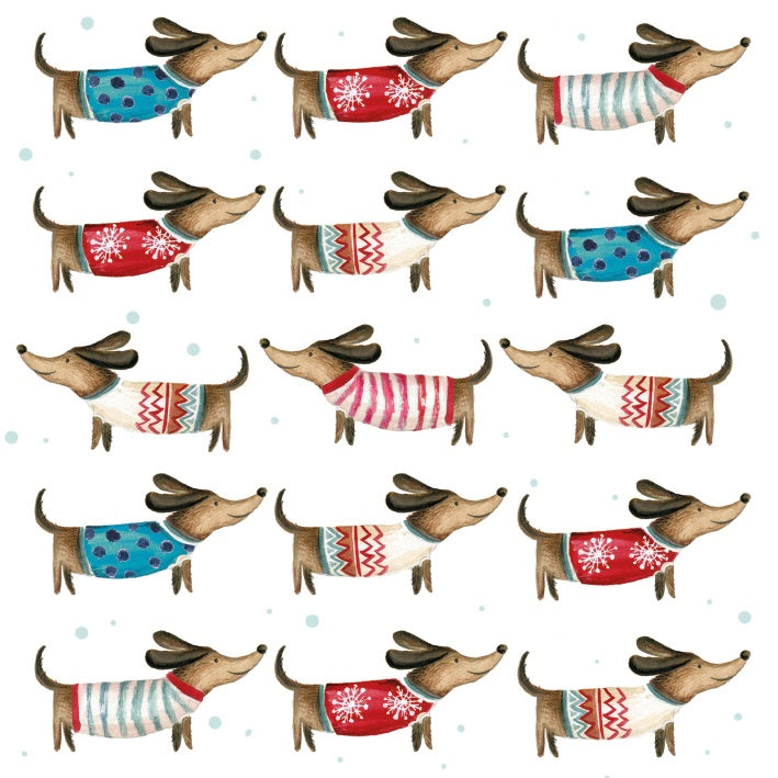 Christmas Canine Style Card Pack