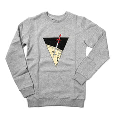 Tintin Rocket Sweatshirt Light Grey