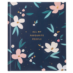 All My Favourite People Floral Address Book