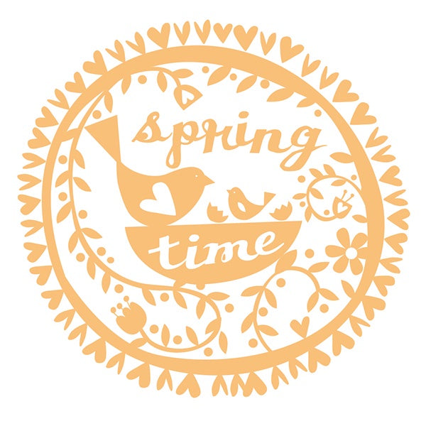 Spring Time Pack of 10 Cards