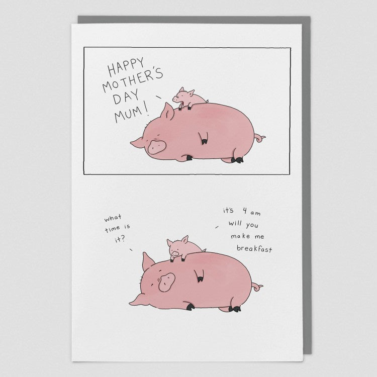 It's 4am Liz Climo Card