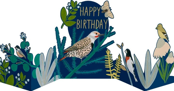 Chicago School Concertina Birthday Card