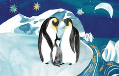 Penguin Trio Christmas Card Pack of 8