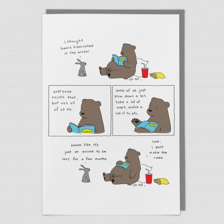 Hibernate Animal Card