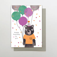 Happy Bearday To You Card