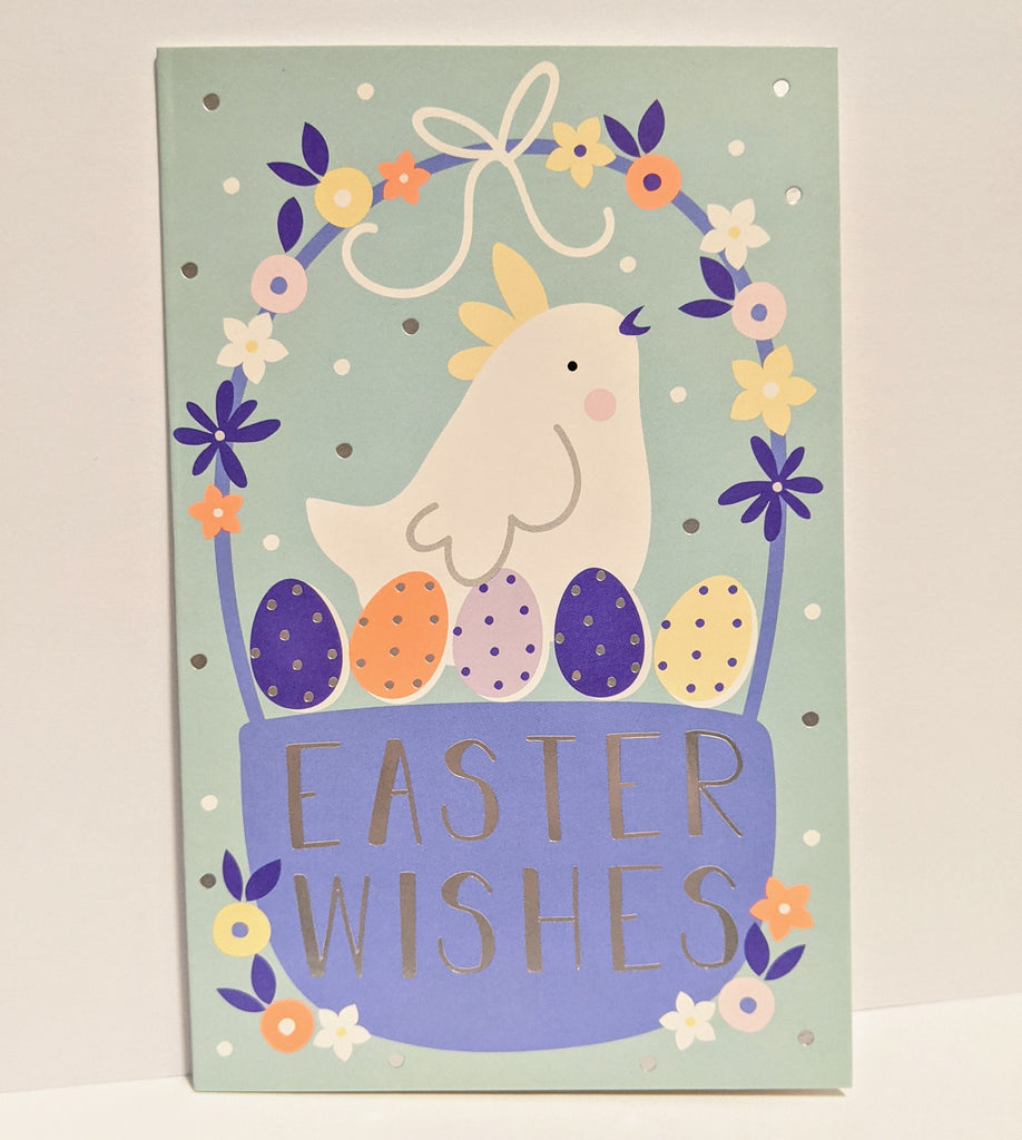 Easter Wishes Hen Pack of 6 Cards
