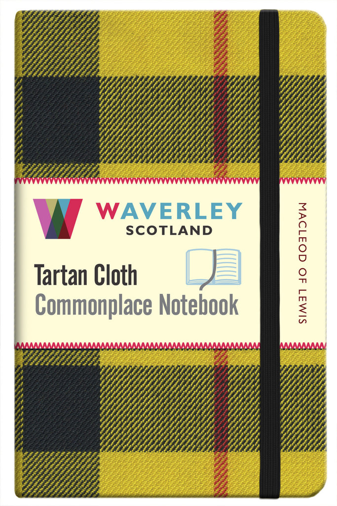 Tartan Cloth Notebook- MacLeod of Lewis